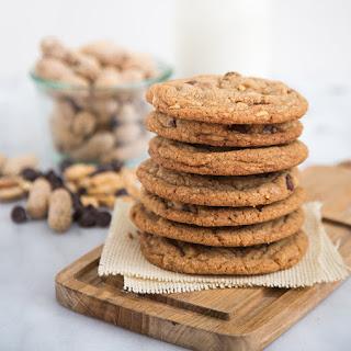 Peanut Chocolate Chip Cookies.