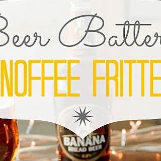 Beer Battered Deep Fried Bananas.