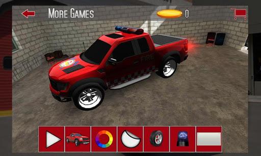 Fire Truck Parking 3D 2