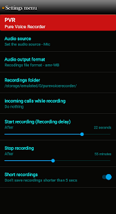 Pure Voice Recorder Light- screenshot thumbnail