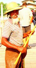 Photo: Year 2 Day 55 - Another Fisherman on U Bein's Bridge