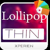 Xperien Theme-Lollipop Thin