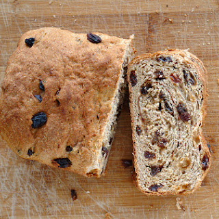 Cinnamon Raisin Bread (Whole Wheat)