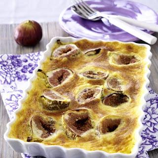 Broiled Figs in Zabaglione