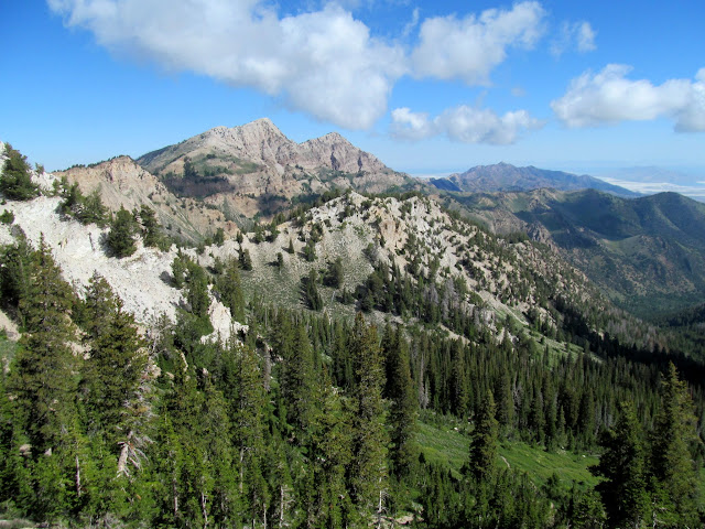 The Stansburys north of Deseret Peak