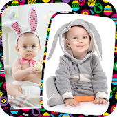 Easter Photo Collage Editor