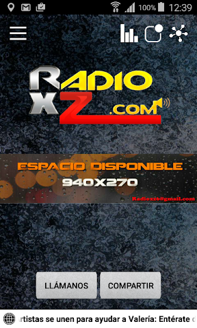 android RadioxZ Screenshot 0