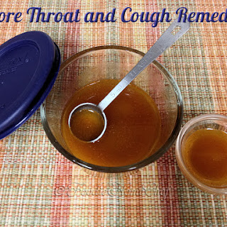 Sore Throat & Cough Remedy Recipe