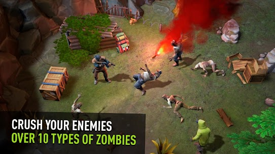 Days After zombie survival Apk Mod Free Craft 3