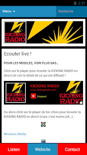 KICKING RADIO- screenshot thumbnail