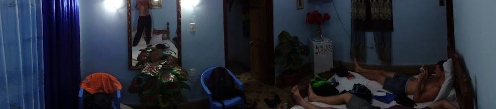 Photo: Druhá noc v Cienfuegos. Za stejnej peníz (25CUC) o dost větší luxus.
