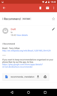 Recommender- screenshot thumbnail