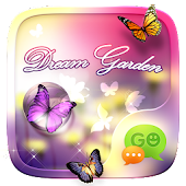 (FREE) GO SMS DREAM GARDEN THEME