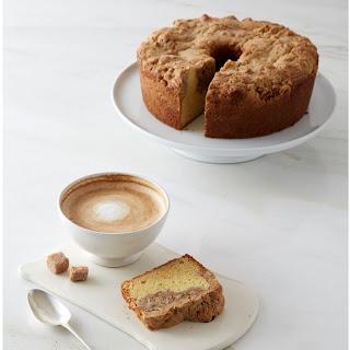 Pecan-Frangipane Coffee Cake