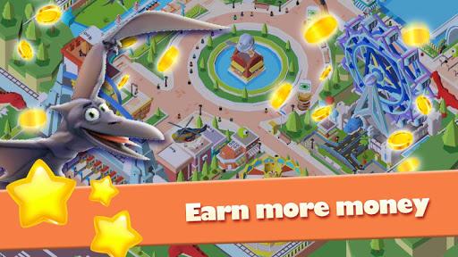 Idle Park Tycoon - Dinosaur Theme Park apkpoly screenshots 3