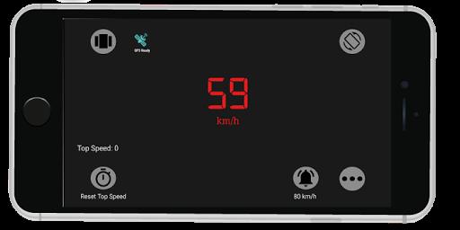 Accurate Speedometer app -Digi GPS HUD Speedometer 7.4 screenshots 2