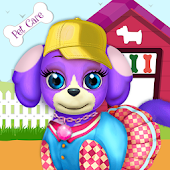 Cute Puppy Pet Daycare - Caring For Puppy Salon Android APK Download Free By Wisiks Games