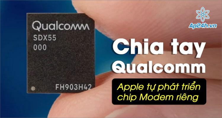 Apple đang tự phát triển chip modem di động