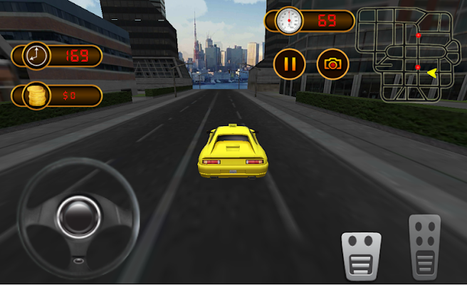 Modern Taxi Driver - screenshot