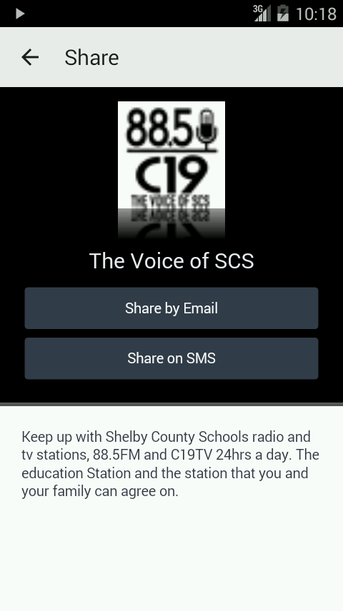 The Voice of SCS- screenshot