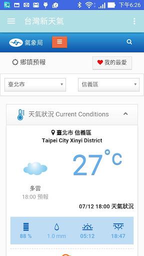 免費下載天氣APP 台灣新天氣 app開箱文 APP開箱王