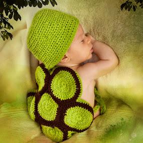 Turtle... by Emanuel Correia - Babies & Children Babies