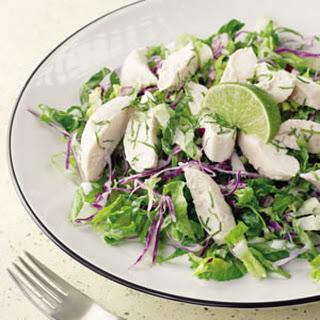 Coconut-Lime Chicken & Snow Peas