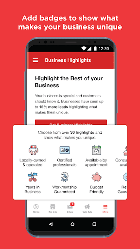 Yelp for Business Owners screenshots 7