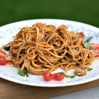 Roasted Red Pepper Pasta Sauce.