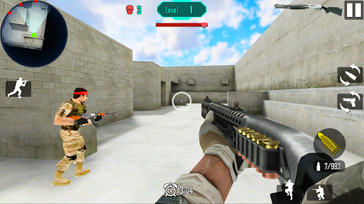 Télécharger Guerre Gun Shoot mod apk screenshots 2