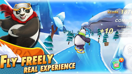Ski Crazy Safari : Adventure World - screenshot