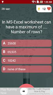 Free Microsoft Excel Test Quiz 4