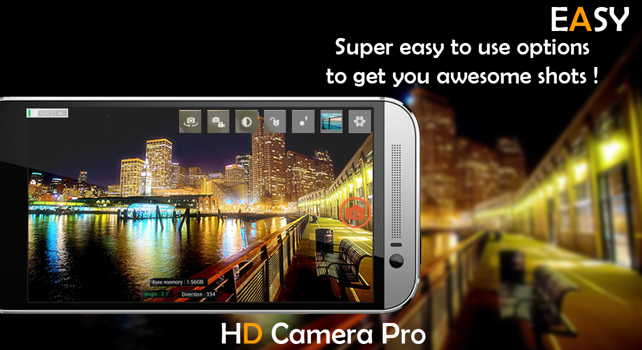 HD Camera Pro 2017- screenshot