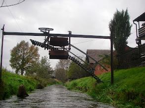 Photo: ktoś ma własny mostek zwodzony