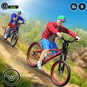 Offroad BMX Rider icon