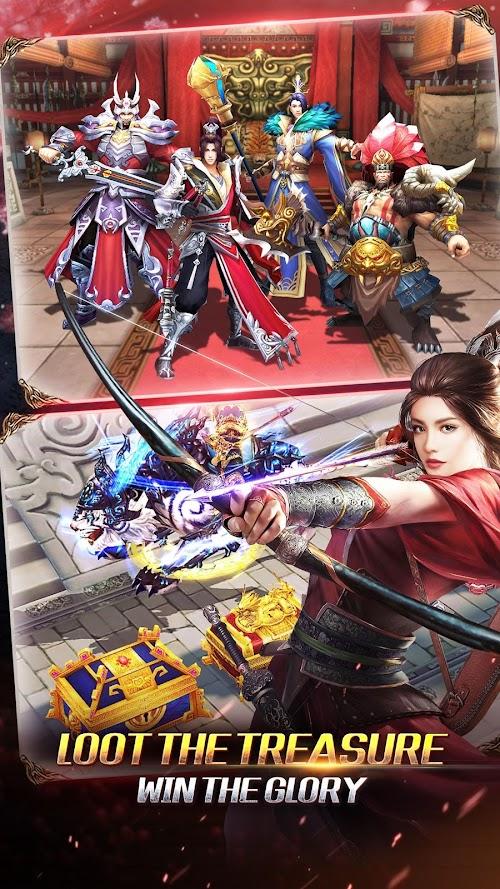 Screenshot 2 Kingdom Warriors 2.1.0 APK MOD