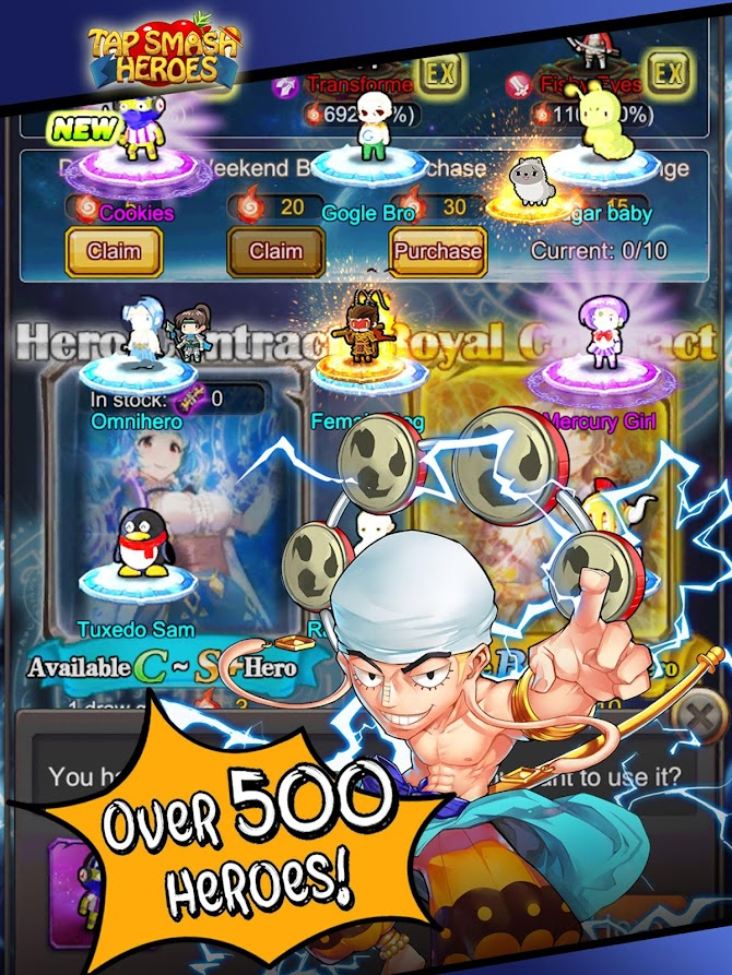 Tap Smash Heroes: Idle RPG Game Android 14