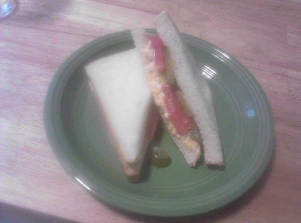 Pimento Olive Cheese Sandwiches With Tomato Recipe