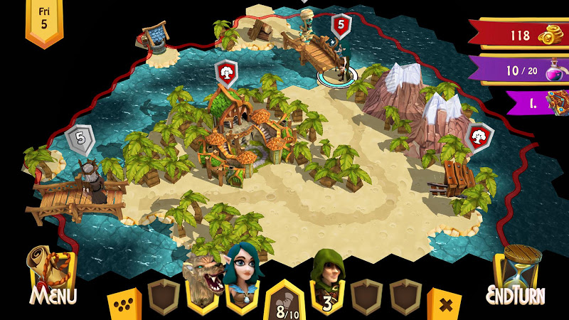 Heroes of Flatlandia Screenshot 3