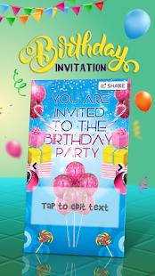 Pozvánky Na Narozeninové Párty - náhled