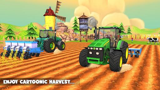 Cotton Farming: Harvester Simulator 2018 1.0 screenshots 9
