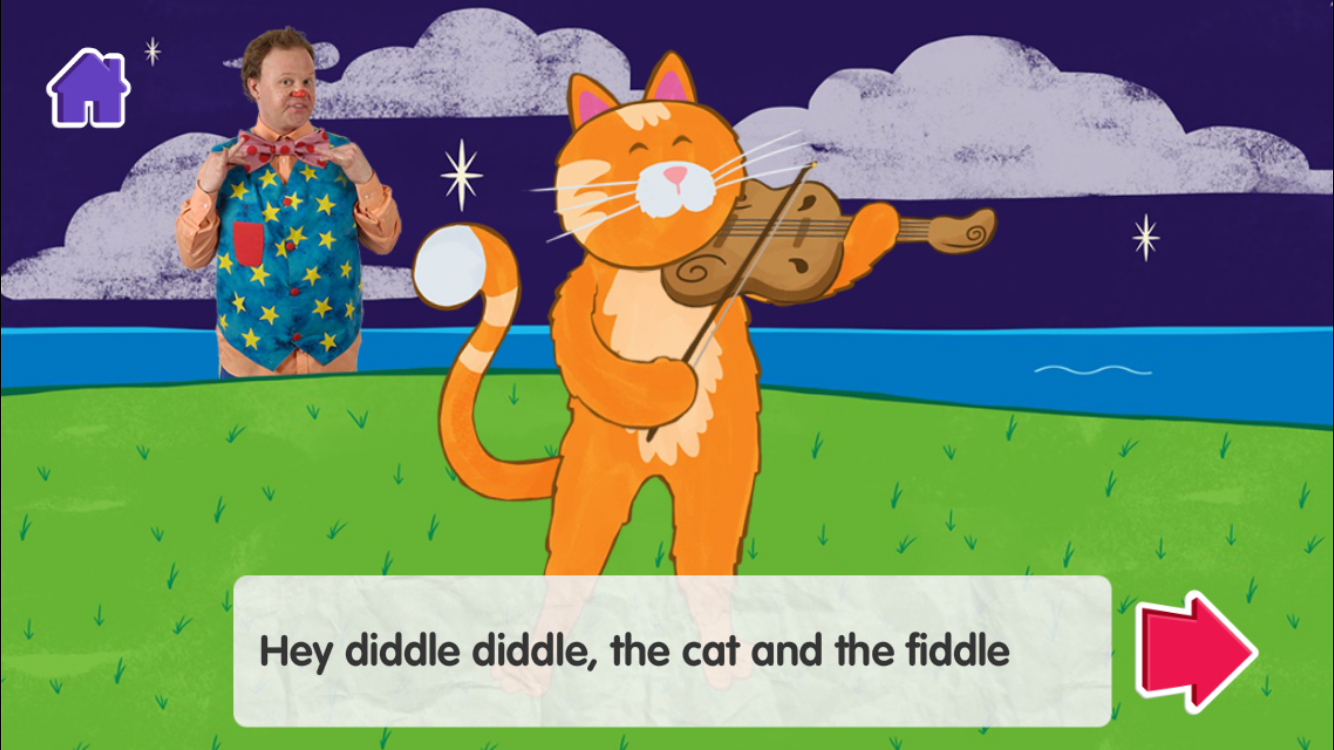 BBC CBeebies Storytime- screenshot