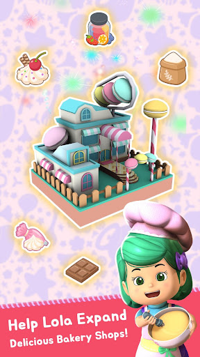 Lola Bakery - Puzzle & Idle Store Tycoon with Kiko  screenshots 1