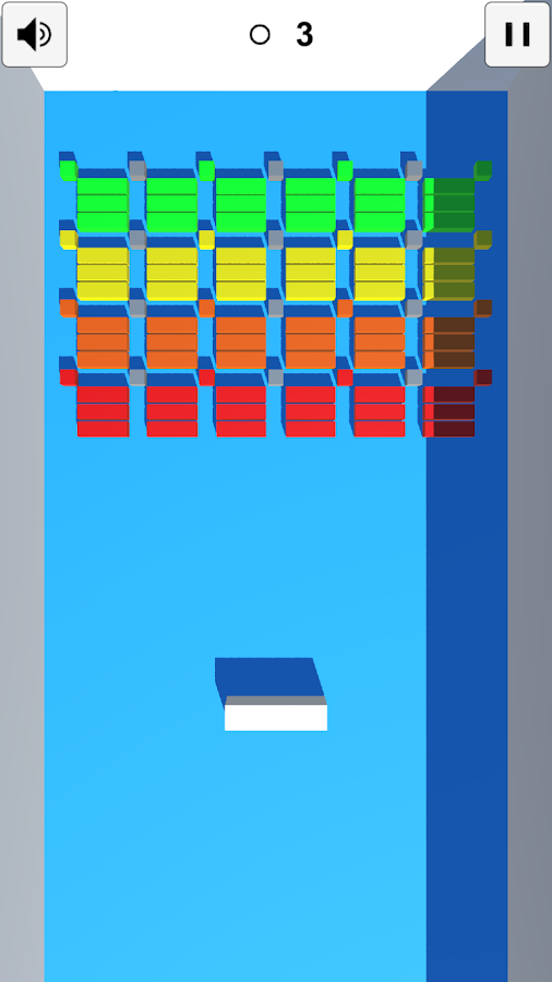 Simple Brick Breaker 3D- screenshot