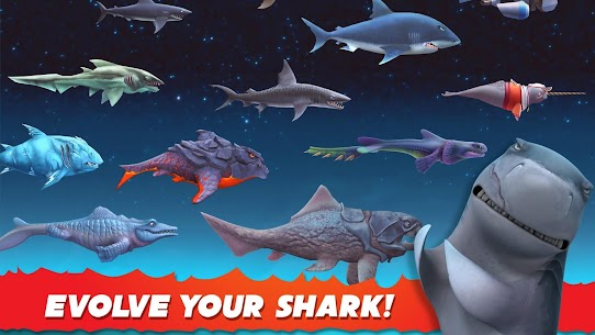 Hungry Shark Evolution MOD Apk 7.4.1 (Unlimited Everything) 2