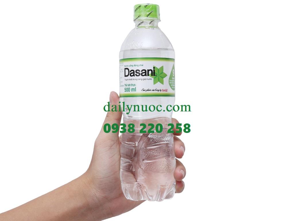 Nước uống dasani 500ml