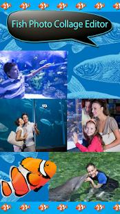 fish fotografie koláž editor - náhled