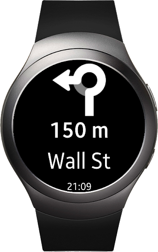 PC u7528 Navigation Pro: Google Maps Navi on Samsung Watch 1