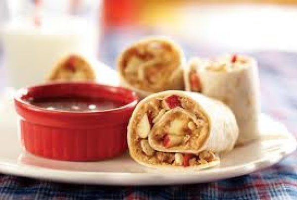 Peanut Butter Apple Wraps Recipe