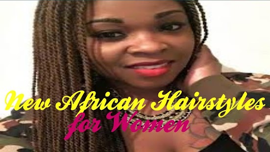 New African Hairstyles for Women - náhled